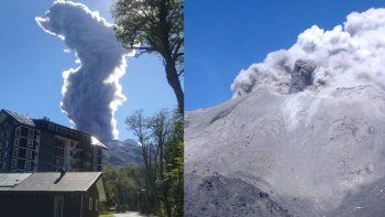 Volvió a erupcionar el volcán Nevados del Chillán