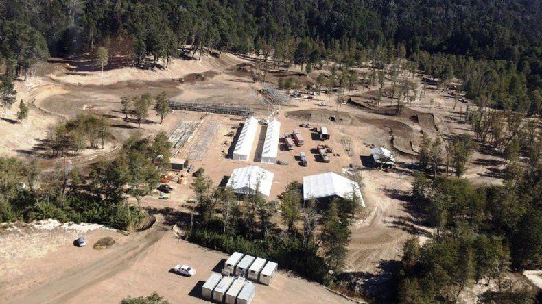 Greenpeace denunció la deforestación para la pista de motocross en Villa la Angostura