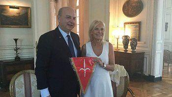 Roberto Dipiazza y su mujer Claudia DAtri, las víctimas del robo.
