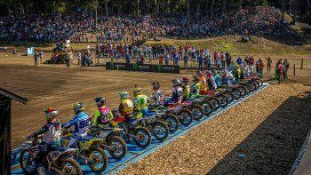 Mundial de Motocross: la villa ya empezó a vibrar