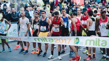 Carriqueo terminó cuarto en el sudamericano de maratón