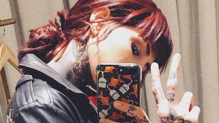 Candelaria Tinelli se cambió el look para parecerse a la Sirenita