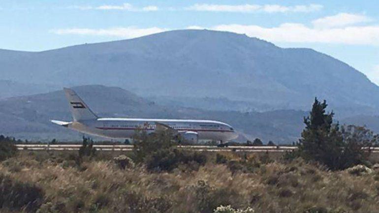 Un jeque árabe revoluciona el aeropuerto de Bariloche