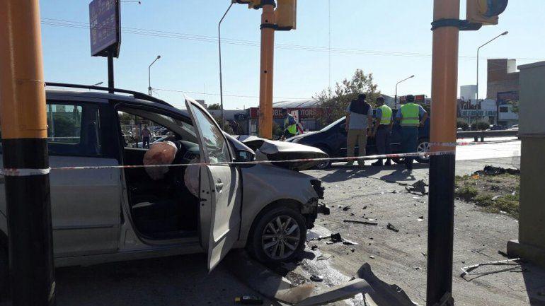 Otro choque con heridos, esta vez en Linares y Ruta 22