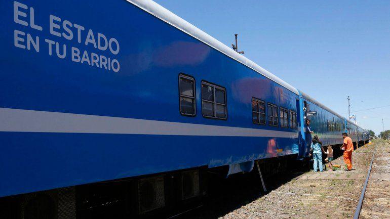 Se puso en marcha en Zapala el tren El Estado en tu barrio que recorrerá el país