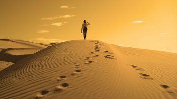 La aparición de las comunidades de pastores y su ganado hace 8000 años afectaron la vegetación y de a poco se fue convirtiendo en desierto.