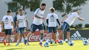 Argentina viajó a Quito.