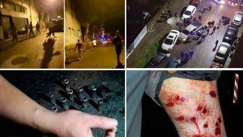 Después del crimen, los vecinos de La Boca apedrearon a los policías, que dispersaron tirando balas de goma.