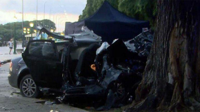 Choque fatal en Puerto Madero: hay tres muertos y un herido grave