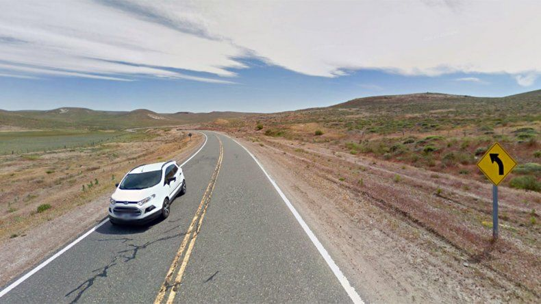 Volcó el auto en el que viajaba por la Ruta 237 y salió despedida: murió en el acto