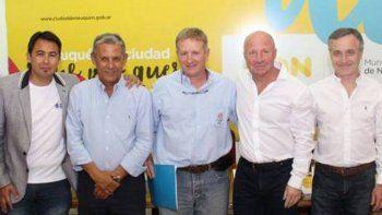 El secretario de Deportes de la Nación estará con Pechi Quiroga.