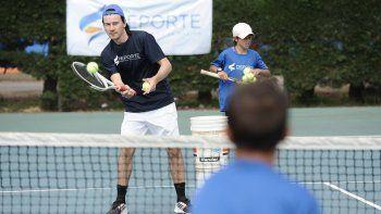 El Mago Coria llega a la ciudad para brindar clínicas de tenis