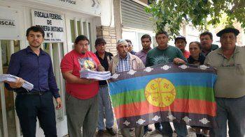 La comunidad Kaxipayiñ radicó una denuncia penal ayer por Loma La Lata.