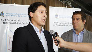 Subsecretario de Empleo y Economía Social, Emanuel Riba.