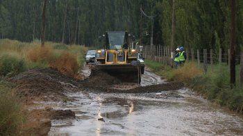 El acceso a las calles 0, 1, 2 y 3 de la zona rural de Centenario fue imposible.
