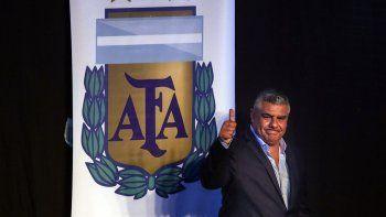 claudio chiqui tapia es el nuevo presidente de la afa