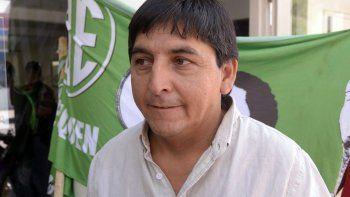 Carlos Quintriqueo, titular de ATE Neuquén.