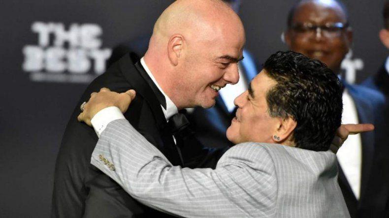 Maradona estará en el sorteo del Mundial de Rusia
