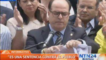 El oficialismo tomó el Parlamento y denuncian a Maduro de un golpe