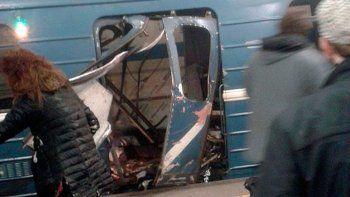 Al menos 10 muertos tras explosión en el subte de San Petersburgo
