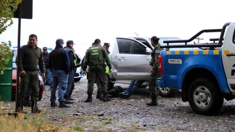 Gendarmería realizó el operativo y contó con apoyo de la Policía neuquina.
