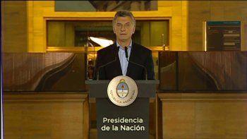 Macri: Ayer no paró el país