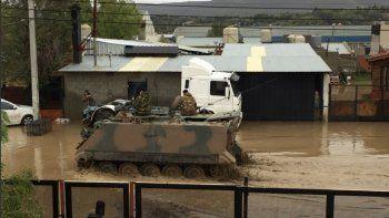Declaran zona de desastre a Comodoro Rivadavia: hay dos muertos y más de 92 mil afectados