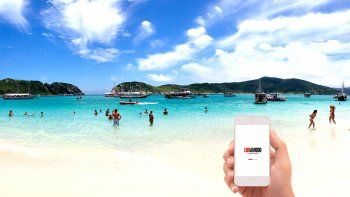 Descargá la nueva app de LU5 en tu celular y ganate un espectacular viaje a Brasil para dos personas