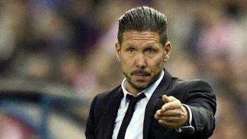 La primera opción sería contratar al Cholo Simeone.