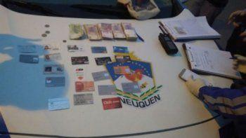 se robo una cartera con 60 mil pesos y lo atraparon