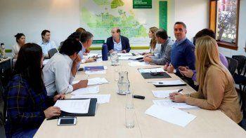 La comisión evaluadora entrevistó a los postulantes para ocupar la Sindicatura Municipal.
