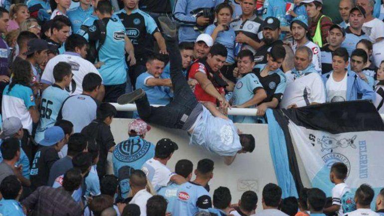 Durísima sanción a Belgrano por la muerte del hincha