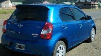 El Toyota Etios apareció en Neuquén en menos de 24 horas.