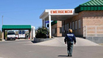 Uno de los ladrones se escondió en el hospital por miedo a la golpiza.