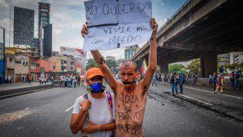 tres muertos en una manifestacion contra el gobierno de maduro