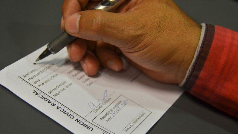 La Justicia Electoral ya detectó irregularidades en las fichas denunciadas.