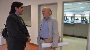 Juan José Dutto estuvo ayer en la entrevista porque quiere volver a la Defensoría del Pueblo.