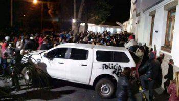 incidentes y heridos tras una protesta contra cristina