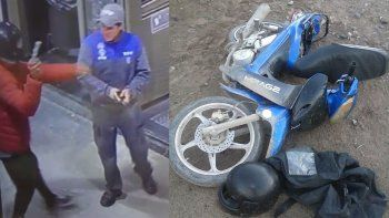 el motochorro de la ypf quedo preso por cuatro meses por una seguidilla de robos