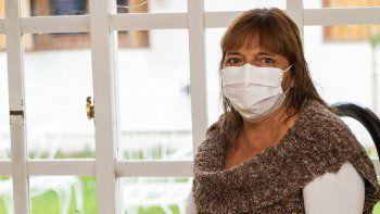 Silvana Bagolín se recupera del trasplante después de 25 años de que le diagnosticaran insuficiencia renal crónica.