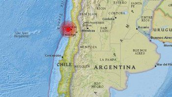 un sismo de 6,1 sacudio anoche la zona del centro de chile