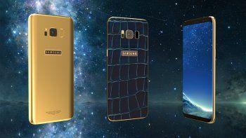 Otra cubierta para el móvil será dorada, de 24 kilates.