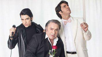 Agustín Sullivan, Marco Antonio Caponi y Antonio Grimau son Sandro.