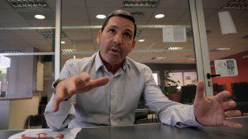 Carlos Sánchez, legislador provincial. Encabezará la lista que el Frente Renovador de Massa presentará en la provincia en las elecciones primarias.
