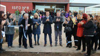 quedaron inauguradas las nuevas instalaciones del ifd n°8