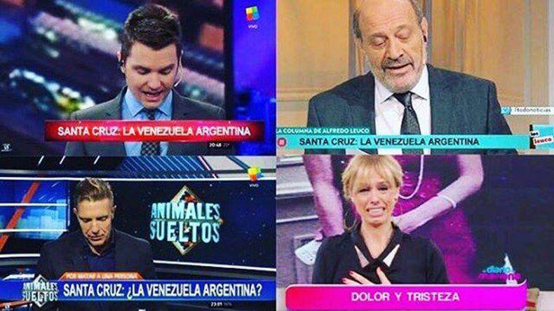 La ex presidenta apuntó contra Del Moro, Fantino, Leuco y Mariana Fabbiani.