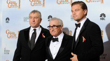Scorsese, De Niro y DiCaprio podrían juntarse por primera vez en una ficción.