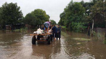 La situación más crítica es en la zona de San Luis del Palmar.