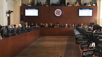 venezuela anuncio su retiro de la oea en medio de la crisis