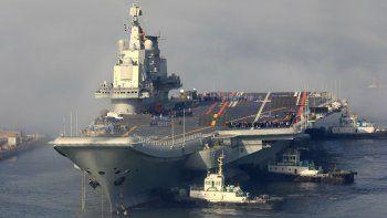 El nombre provisorio del portaaviones chino es 001A.